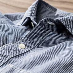 J. Hilburn utility shirt