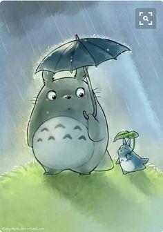 Totoro and small Totoro