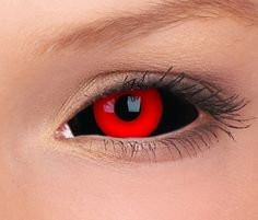 Gremlin - Tokyo ghoul sclera lenses are the most popular 2 color (black and red) sclera contact lenses. Test it.