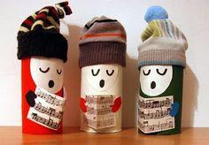 Manualidad: 15 Manualidades de Navidad con rollos de papel perfectas para hacer con niños
