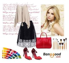 """""""Banggood 6"""" by aida-1999 ❤ liked on Polyvore featuring Sans Souci"""
