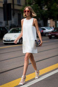 runwayandbeauty:  Love this look: It girl Candela Novembre before Fendi Fashion Show, Milan Menswear Spring/Summer 2016.