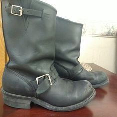 Shop Women's Frye Black size Combat & Moto Boots at a discounted price at Poshmark. Description: Woman's Distressed frye motorcycle boots size Sold by dreoutwater. Motorcycle Boots, Moto Boots, Riders Jacket, Engineer Boots, Frye Boots, Color Black, Vintage, Shoes, Products