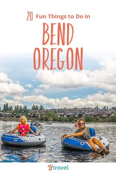 Bend Oregon Vacation Planning Guide. Planning to visit Bend Oregon? Here are 20 of the best things to do in Bend including tubing, beer drinking, and hiking. Plus tips on where to stay and much more! Don't visit Oregon without reading this Bend travel guide! #Bend #Oregon #pnw #oregontravel  #familytravel #vacation #adventuretravel