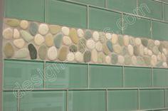 Sage Green Glass Subway Tile Wall Tile Installation
