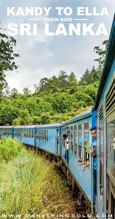 The Kandy to Ella train journey is often described as one of the world's most scenic. Slow down and enjoy this ride through misty tea plantations when you travel to Sri Lanka.