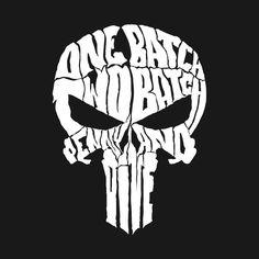 "The Punisher ""One batch, two batch, penny and dime. The Punisher, Punisher Logo, Punisher Skull, Emoji Wallpaper, Marvel Wallpaper, Batman Art, Batman Comics, Frank Castle Punisher, Badass Skulls"