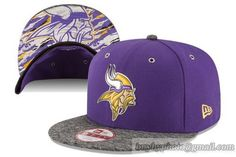 Cheap Wholesale NFL Minnesota Vikings Heather Gray Snapback Hats 2016 NFL  Draft 9FIFTY for slae at 30fbff047