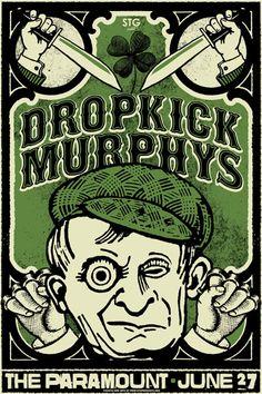 Dropkick Murphys by Nat Damm