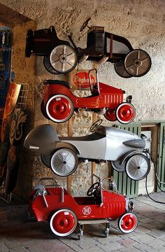 collapsible/sidecar storage (fremont bike by ziba) Veritas RS III Roadster super sports car Pedal cars -? Antique Toys, Vintage Toys, E Motor, Kids Ride On, Cafe Racer, Pedal Cars, Tin Toys, Go Kart, Old Cars