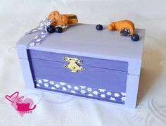 Blue berry box - for your jewelry