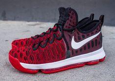 Nike KD 9 University Red Black