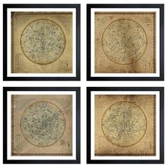 Bring a little piece of the heavens to any room with this 16th century celestial map. Created by artist Oliver Gal, this map has been expertly reproduced and giclee printed on archival acid-free paper.