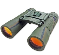 Compact Camouflage Folding Binoculars with Case, High quality optics, Rubber amoured body. Features High Power Magnification. Special Anti Glare Fully Coated Optics. Lightweight Alloy Body. Ideal for Birdwatching, Concerts, Sport, Hiking, Camping and Travel. (10x 25 Camo)