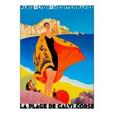 Poster/Druk: Franse Riviera