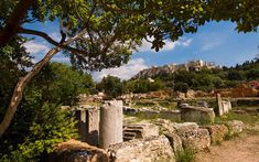 In Greece's museums, at archaeological sites and prominent in the natural landscape, evocative reminders of past democratic ideals surround us. Athenian Democracy, The Trace, Archaeological Site, Monument Valley, Past, Greece, Scenery, Landscape, Modern
