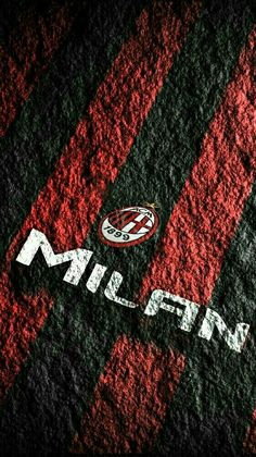 Milan Football, Football Art, World Football, Nike Football, Ac Milan Kit, Milan Wallpaper, Wallpaper Wallpapers, Paolo Maldini, Equipement Football