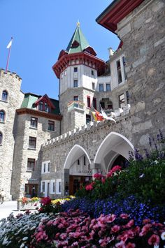 Badrutt's Palace Hotel, St. Moritz, Switzerland. Be there! 2travel.paycation.com