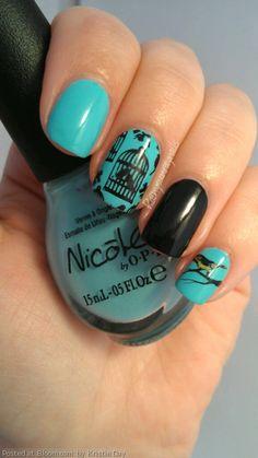 We all love nail art! Click to see fun nail styles.