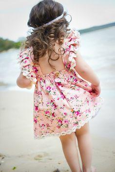 ju ju Creations spring summer 14/15 the Minny Pinny dress.
