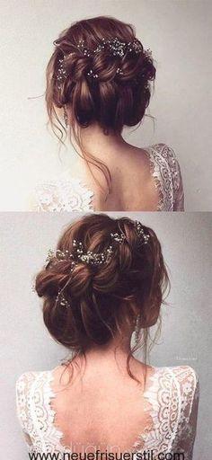 gorgeous bridal updo hairstyle for all brides frisuren haare hair hair long hair short Wedding Hair And Makeup, Hair Makeup, Bridal Makeup, Boho Makeup, Makeup Hairstyle, Eye Makeup, Bridal Beauty, Up Hairstyles, Wedding Hairstyles