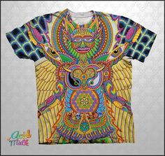 Neo Human Evolution Sublimation Tee by Chris Dyer