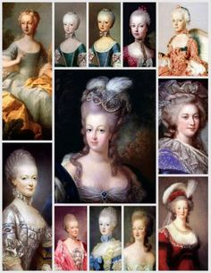 Magic Moonlight Free Images: Marie Antoinette Collages! from Blanca of Magic Moonlight Studios
