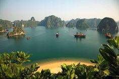 Titov Island, HaLond Bay, Vietnam
