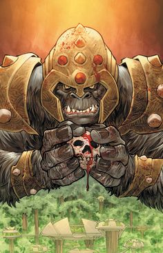 Flashpoint: Grodd of War by Francis Manapul.