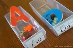 how to use the montessori alphabet box - Wildflower Ramblings