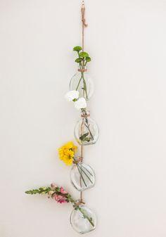 Hanging Backdrop  Suspension of Disbe-leaf Vase Set   Mod Retro Vintage Decor Accessories   ModCloth.com