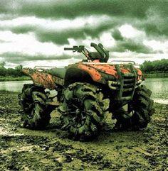 ATV & mud