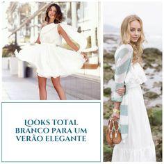 Dicas como usar look total branco perfeito para o verão.
