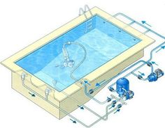 kit mini piscine Easybloc - Piscines - Zyke