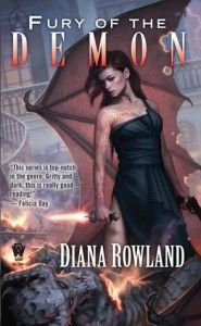 Review: Fury of the Demon by Diana Rowland (UF)