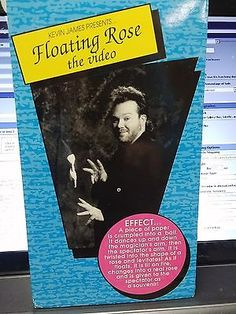 Kevin James Presents FLOATING ROSE THE VIDEO VHS TAPE RARE ITEM Collectibles:Fantasy, Mythical & Magic:Magic:Tricks www.webrummage.com $11.04