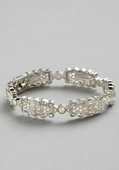 art deco wedding bracelet