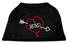 XOXO Screen Print Shirt Black Lg (14)