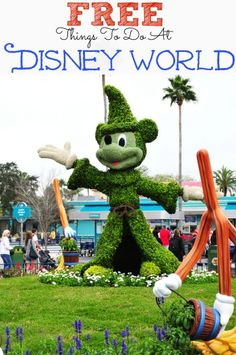 Did you know that there are free things to do at Disney World? We have created a list offun things to do at Disney World that are free!!