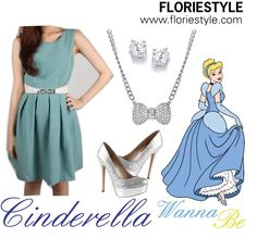 """""""Cinderella Wanna Be"""" by floriestyle on Polyvore"""