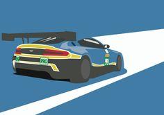 Aston Martin Vantage Racing by PurplePetrolPump