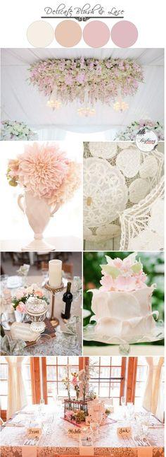 Delicate Blush and Lace Wedding Ideas   BigBang Wedding, Singapore   BigBangWedding