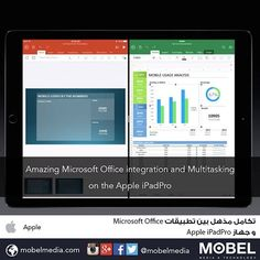 Amazing #Microsoft Office integration and Multitasking on the Apple iPadPro #apple2015