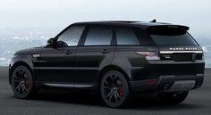 Range Rover Sport SVR 2016| Black on black on black| Jaguar Land Rover.com