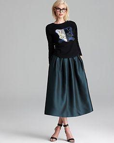 Tibi Sweatshirt & Skirt | Bloomingdale's