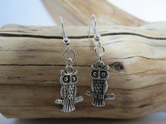 Handmade Owl Earrings