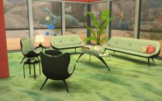 TS2 to TS4 – 60s Living Room Set   Sims 4 Updates -♦- Sims Finds & Sims Must Haves -♦- Free Sims Downloads