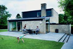 Moderne 50'er-hus: Rene linjer og masser af sjæl - Boligliv