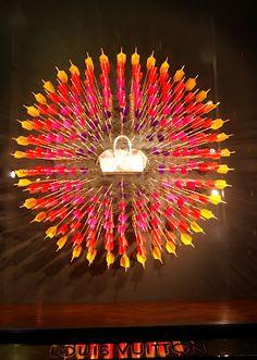 MesVitrinesNYC: Louis Vuitton plays darts