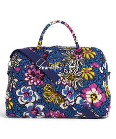 accf79b4dc Vera Bradley African Violet Large Travel Carry On Weekender Bag Luggage  Piece  VeraBradley  Large